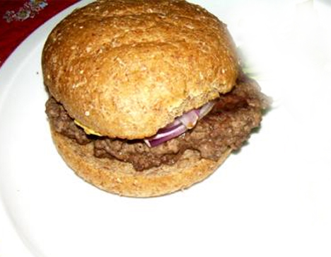 Spicy Beef Burger picture