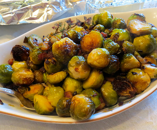 Spicy Brussels Sprouts picture