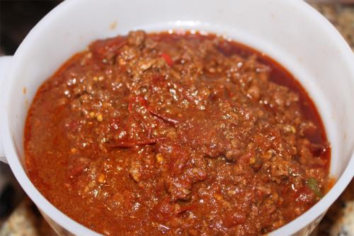 Spicy Chili Pepper With Vinegar picture