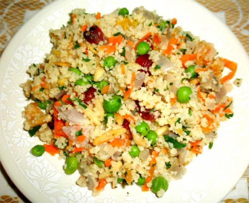 Spicy Couscous Salad picture