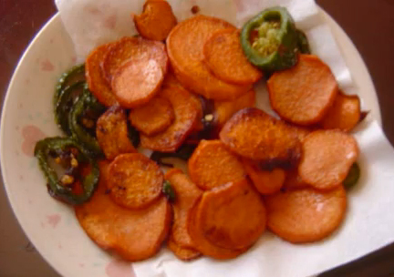 Fried Jalapeno and Yams  picture