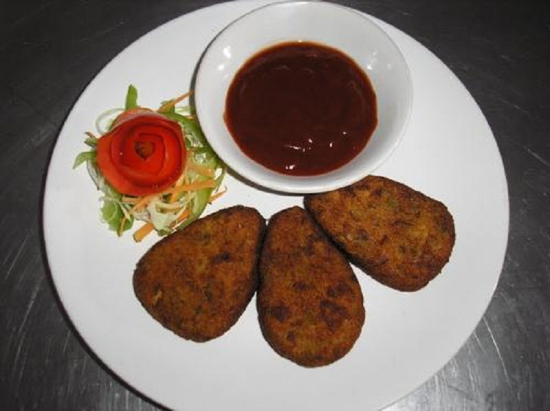 Spicy Mutton Cutlets picture