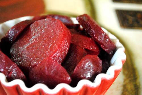Sliced Harvard Beets picture