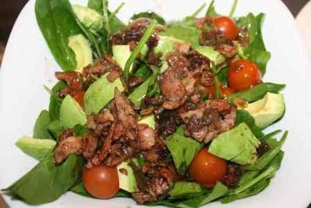 Spinach and Bacon Salad picture
