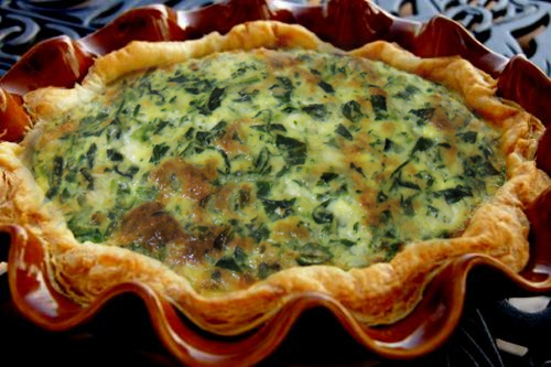 Spinach And Cheese Quiche  picture