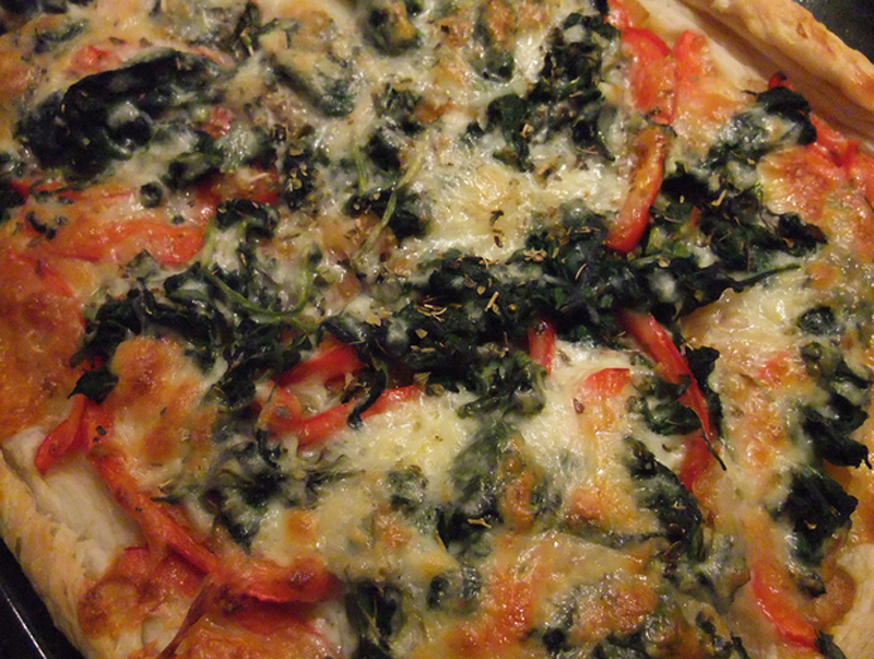 Spinach Cheese Tarts picture
