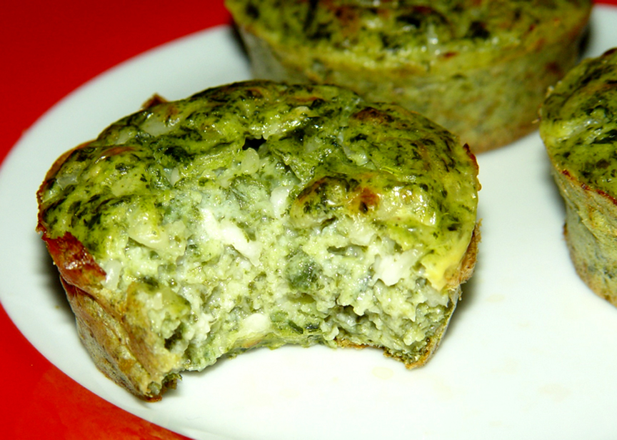 Molded Spinach Cottage Cheese Salad picture