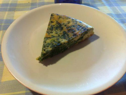 Spinach and Parmesan Frittata picture