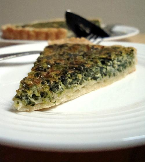 Spinach & Feta Quiche picture