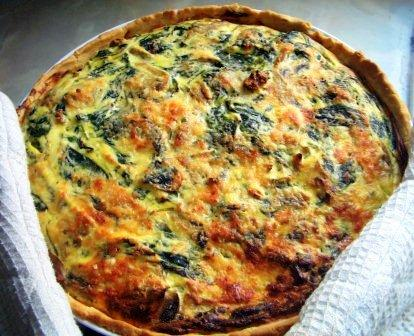 Hot Spinach Pie picture