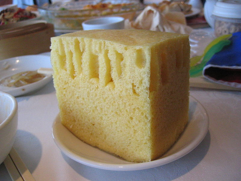 Steamed Sponge Cake picture