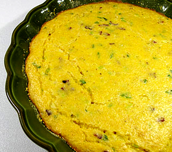 Chive Spoon Bread picture