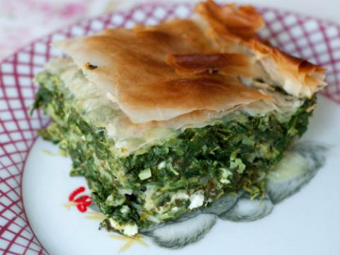 Grecian Spinach Pie picture