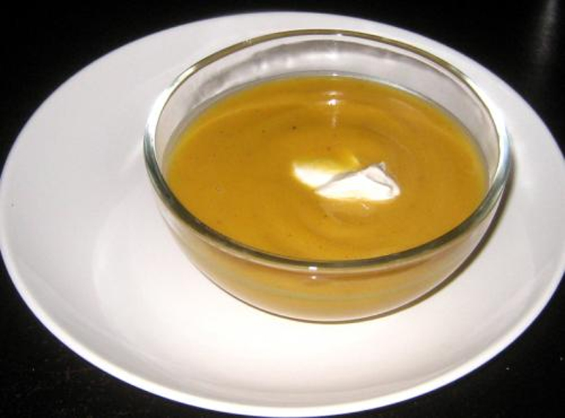 Curried Golden Squash Soup picture