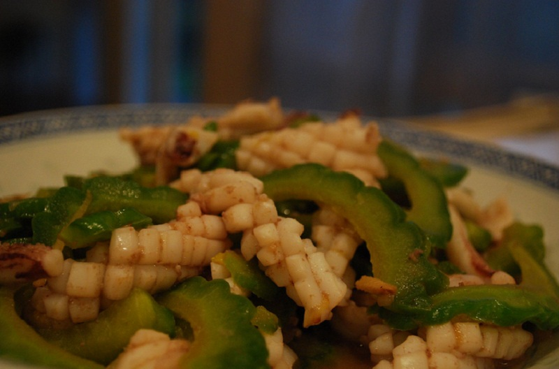 Squid And Green Peppers picture
