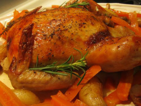 Cognac And Port Chicken picture