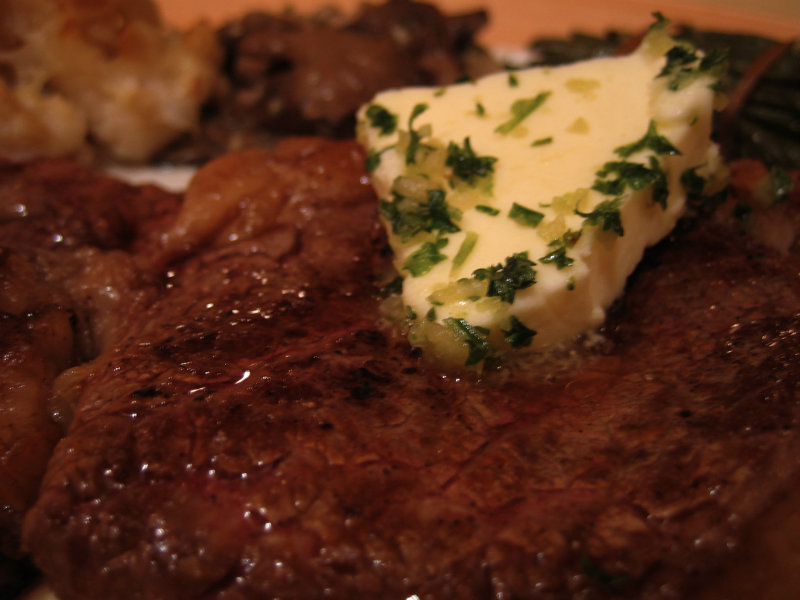 Fillet Steaks with Anchovy Butter picture