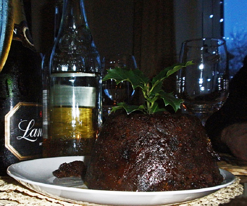 Steamed Christmas Pudding picture
