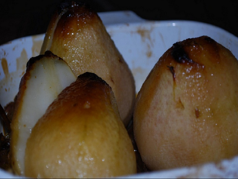 Steamed Pears picture