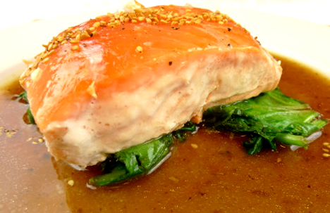Steamed Salmon picture