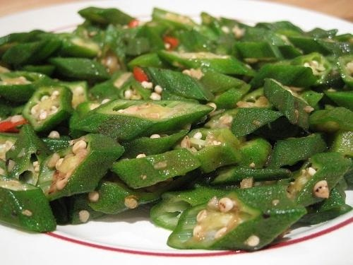 Fresh Buttered Okra picture
