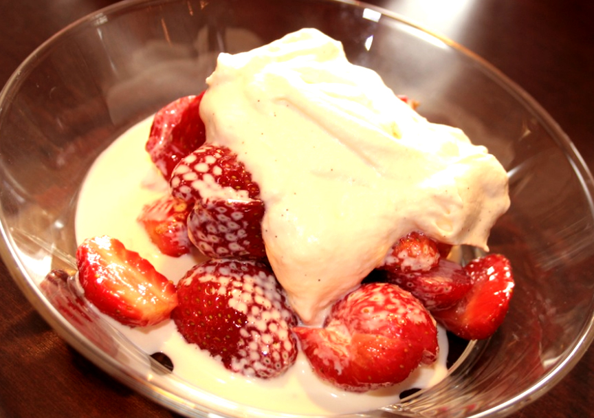 Heavenly Fresh Strawberry Dessert picture