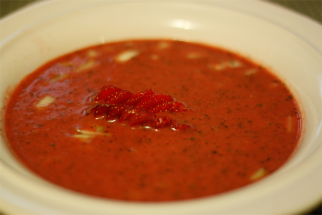 Strawberry Soup picture