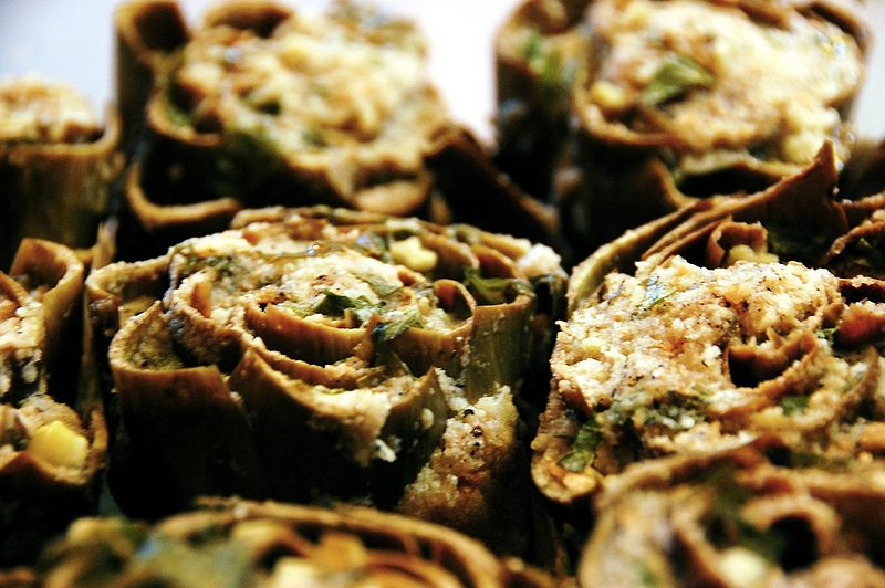 Filled Artichoke Casings  picture
