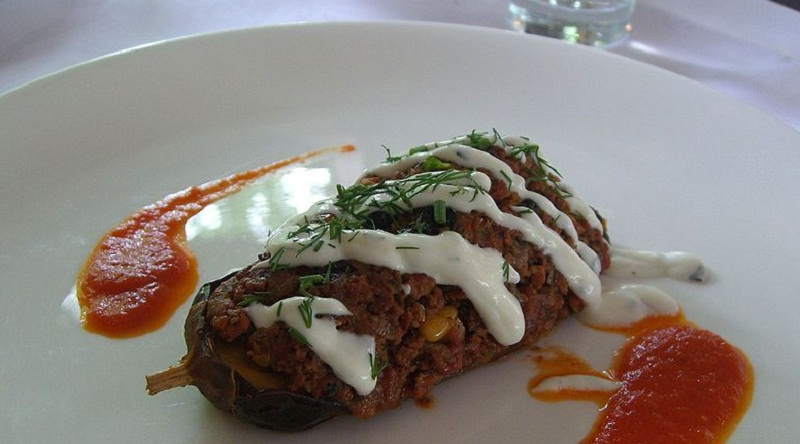 Stuffed Aubergines picture