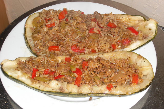 Stuffed Marrows picture