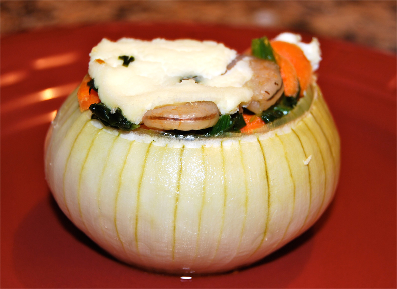 Pork & Parmesan Stuffed Onions picture