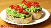Smashed Avocado Toast 1018516 By Onepotchefshow