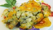 Bettys Chicken Dressing And Vegetable Casserole