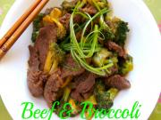 Easy Beef Broccoli