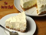 No Bake Pineapple Cream Cake