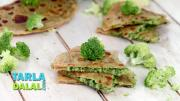 Broccoli And Cheese Parathas