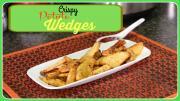Crispy Potato Wedges Easy Snack Idea 1016199 By Sruthiskitchen