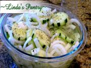 Retro Cucumber Salad