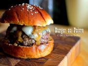 Burger Au Poivre Stevescooking