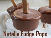 Creamy Nutella Fudge Pops