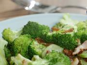 Pan Roasted Broccoli Bacon Recipe