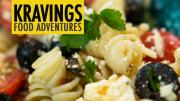 Mediterranean Pasta Salad With Olives Feta Sundried Tomatoes Parmesan And Capers 1015140 By Kravingsblog