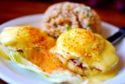 Eggs Benedict With Canadian Bacon