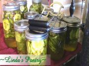 Home Canned Zesty Bread Butter Pickles