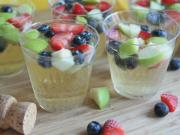 Sparkling Fruity Champagne Punch Recipe