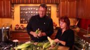 Corn Shucking And Freezing 1017170 By Veganchefmarkanthony