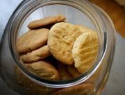 Vanilla Peanut Butter Cookies