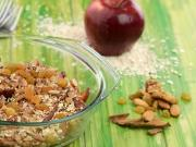 Apple Crumble Healthy Heart High Fibre Recipe By Tarla Dalal