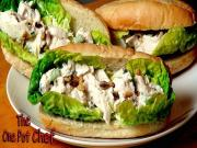 Crunchy Chicken Salad Subs