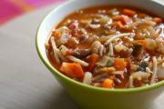 Indian Minestrone Soup